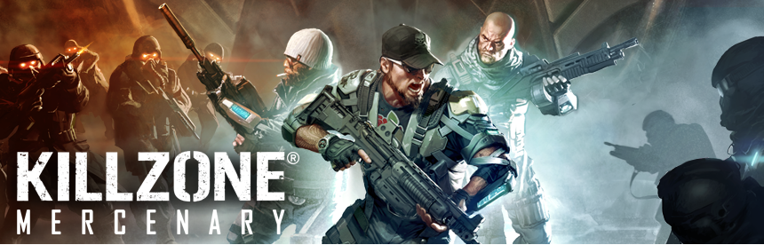 KILLZONE: MERCENARY バナー画像