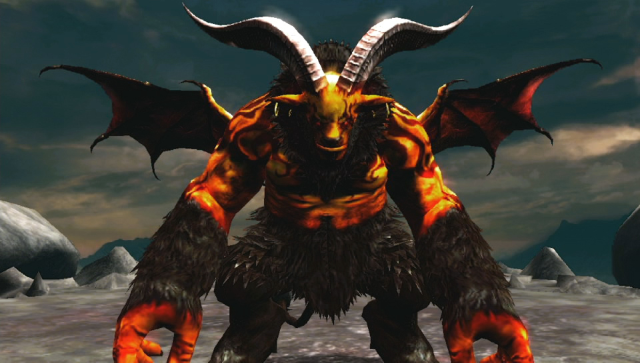 地獄の軍団 ゲーム画面1
