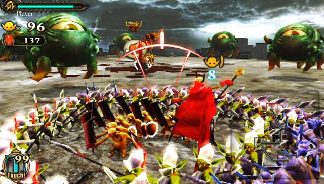 地獄の軍団 ゲーム画面3