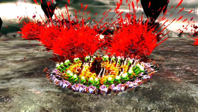 地獄の軍団 ゲーム画面4