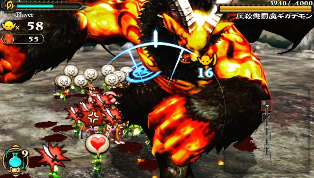 地獄の軍団 ゲーム画面5