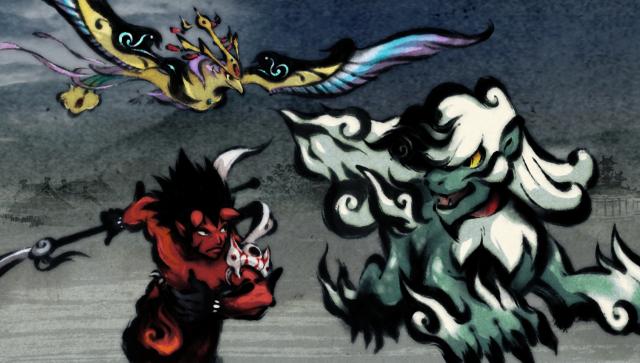墨鬼 SUMIONI ゲーム画面2