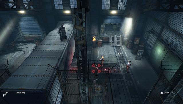 バットマン:アーカム・ビギンズ ブラックゲート ゲーム画面1