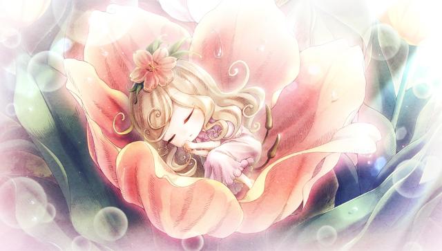 絶対迷宮 秘密のおやゆび姫 ゲーム画面1