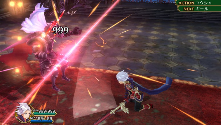 『勇者死す。』ゲーム画面