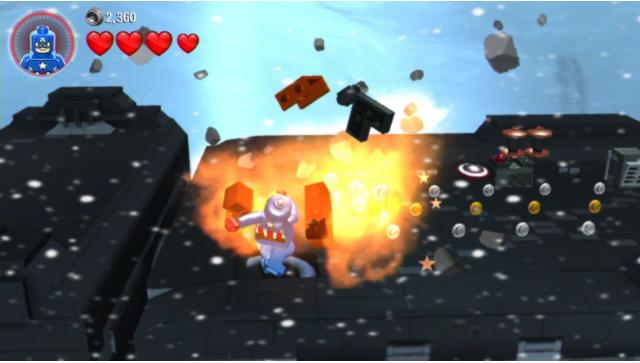 LEGO マーベル アベンジャーズ ゲーム画面8