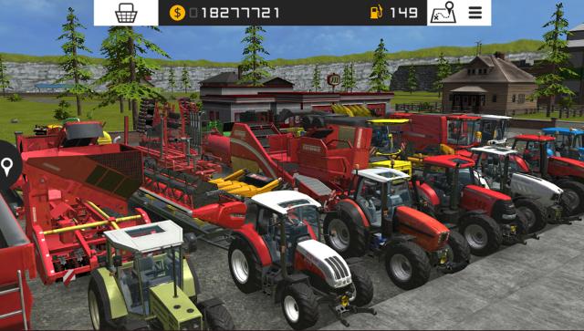 ファーミングシミュレーター 16 ポケット農園3 ゲーム画面3