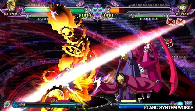 BLAZBLUE CONTINUUM SHIFT EXTEND ゲーム画面5