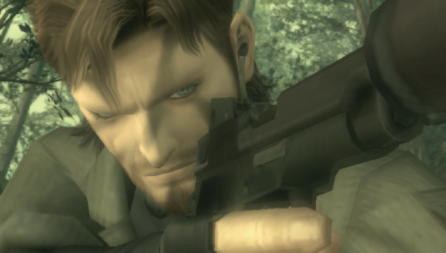 METAL GEAR SOLID HD EDITION ゲーム画面1