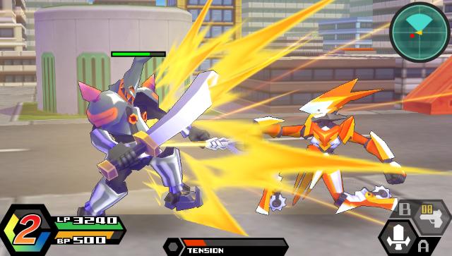 ダンボール戦機W ゲーム画面7