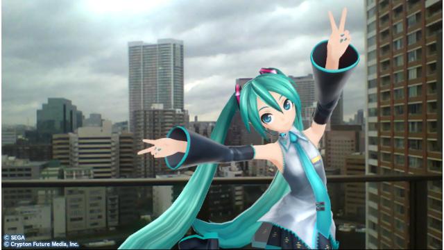 初音ミク -Project DIVA- f ゲーム画面4