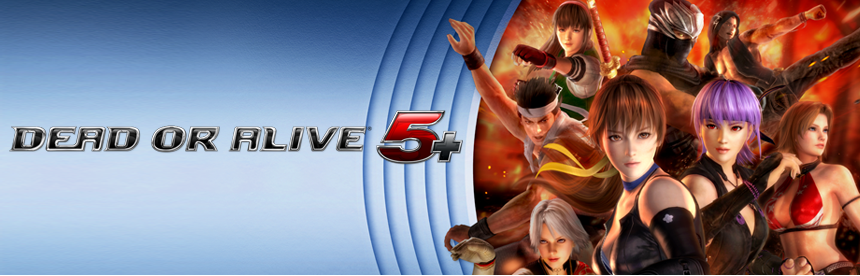 DEAD OR ALIVE 5 PLUS バナー画像