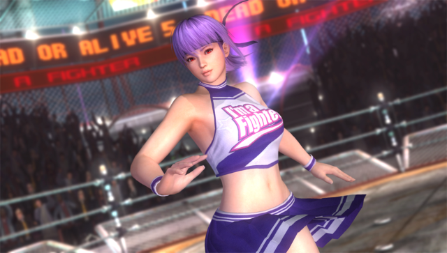 DEAD OR ALIVE 5 PLUS ゲーム画面5