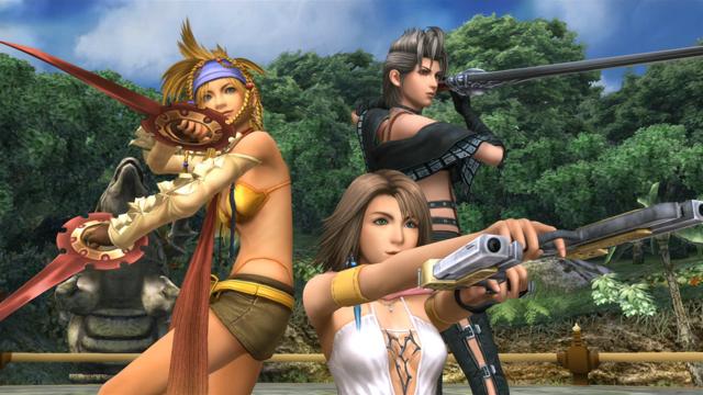 FINAL FANTASY X-2 HD Remaster ゲーム画面2