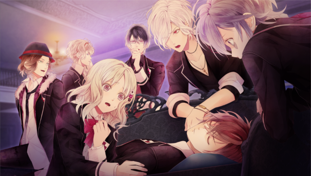 DIABOLIK LOVERS DARK FATE ゲーム画面1