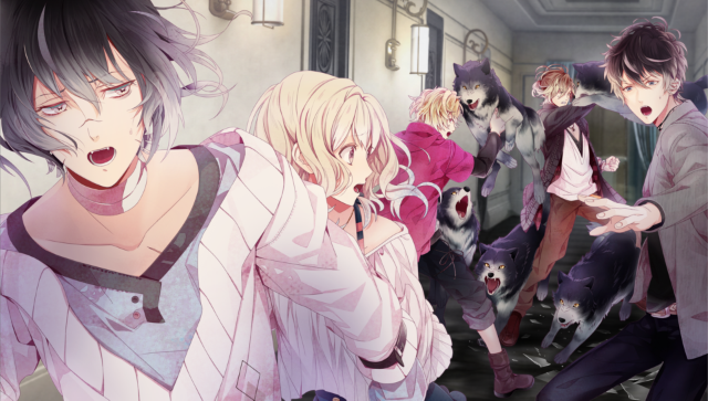 DIABOLIK LOVERS DARK FATE ゲーム画面2