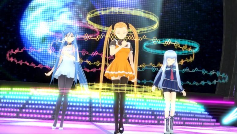 『ミラクルガールズフェスティバル』ゲーム画面