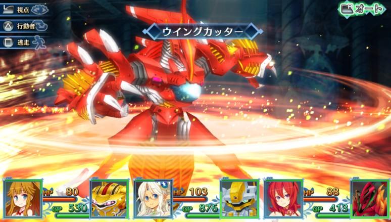 『メイQノ地下ニ死ス』ゲーム画面