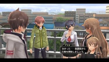 『東亰ザナドゥ』ゲーム画面