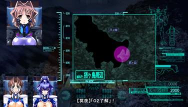 『マブラヴ』ゲーム画面