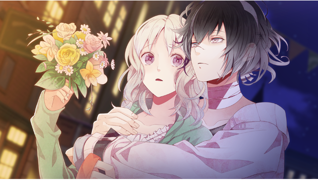 DIABOLIK LOVERS LUNATIC PARADE ゲーム画面1
