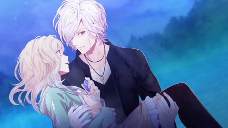 『DIABOLIK LOVERS LUNATIC PARADE』ゲーム画面