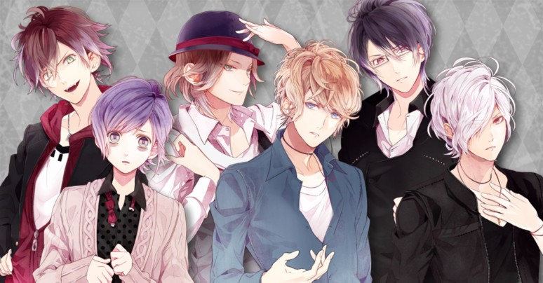 『DIABOLIK LOVERS LUNATIC PARADE』逆巻家キャラクター