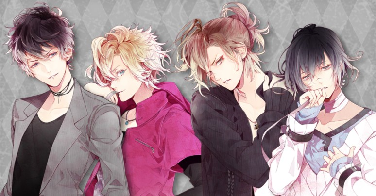 『DIABOLIK LOVERS LUNATIC PARADE』無神家キャラクター