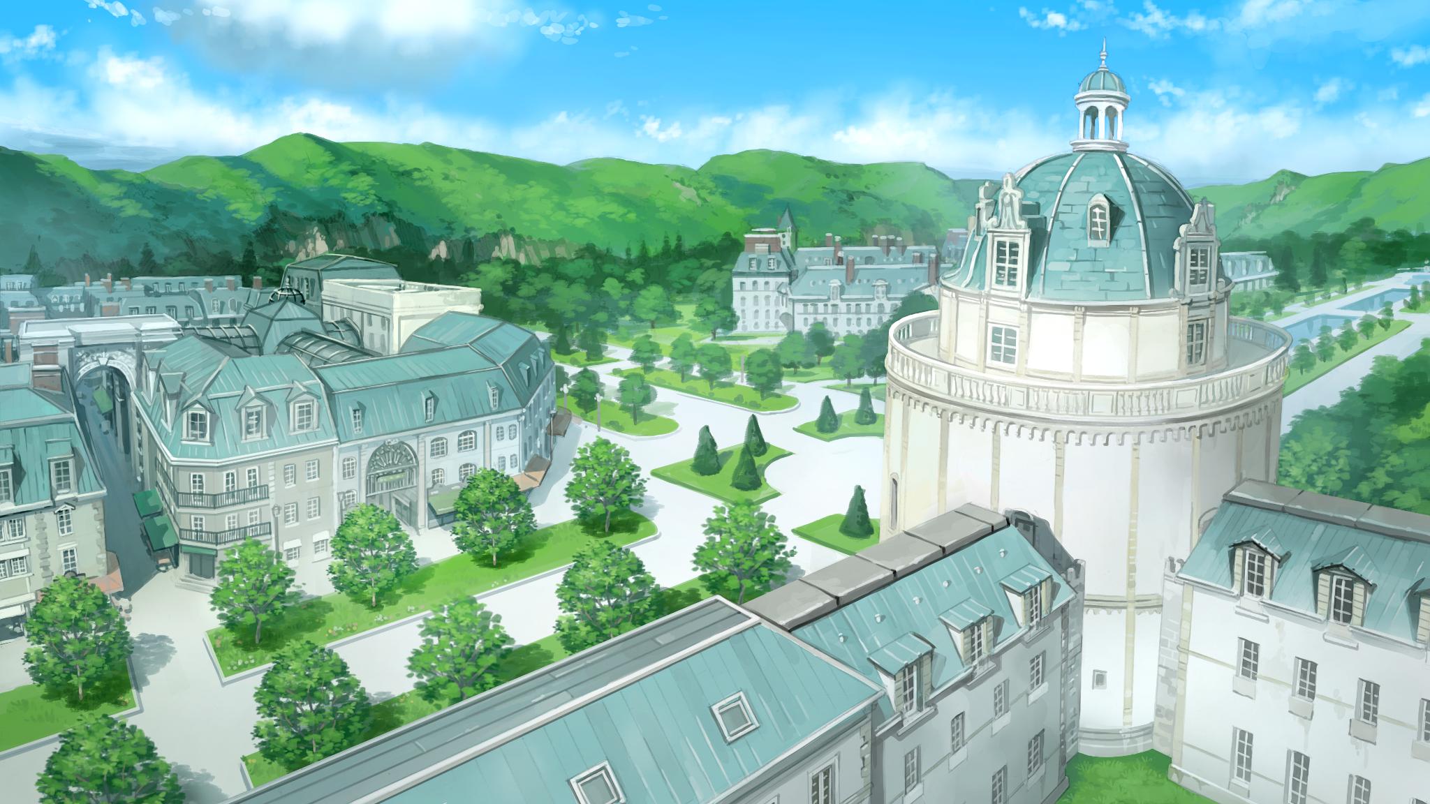 『絶対階級学園』ゲーム画面