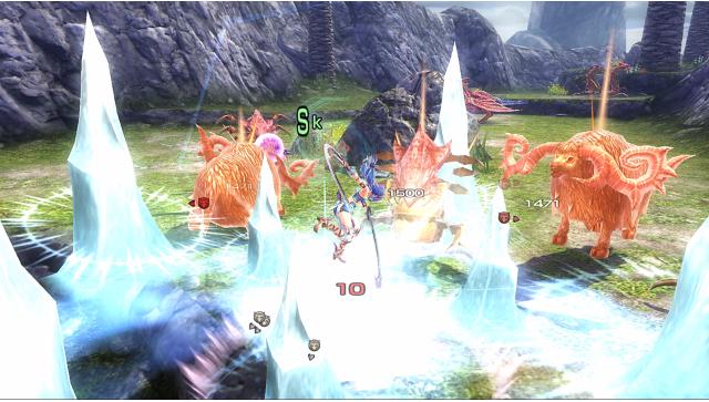 イースVIII -Lacrimosa of DANA- ゲーム画面6