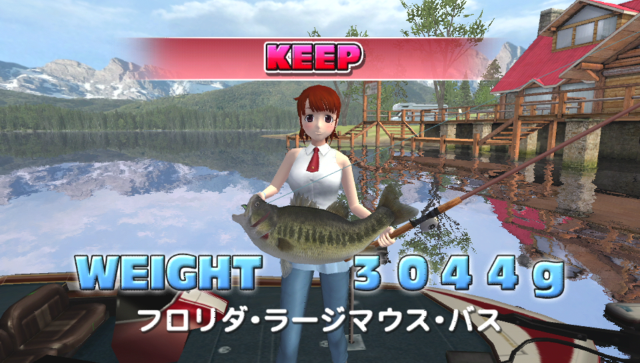 Let's Try Bass Fishing FISH ON NEXT ゲーム画面4