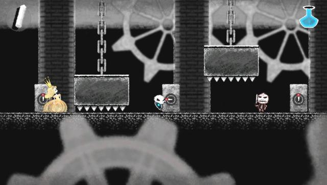 Dokuro ゲーム画面1