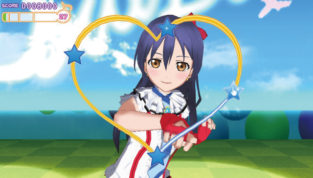 ラブライブ! School idol paradise Vol.3 lily white ゲーム画面1