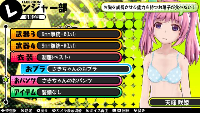 バレットガールズ PlayStation®Vita the Best ゲーム画面7