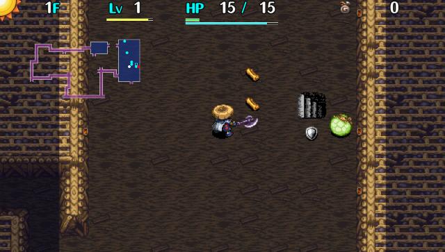 不思議のダンジョン 風来のシレン5 plus フォーチュンタワーと運命のダイス ゲーム画面7