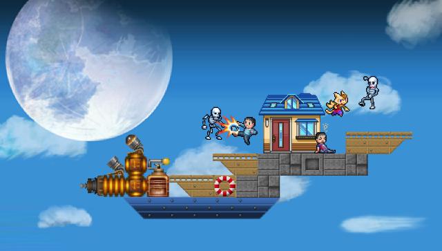 エアシップQ ゲーム画面6