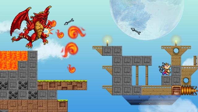 エアシップQ ゲーム画面8