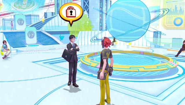デジモンストーリー サイバースルゥース ゲーム画面7