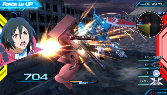 機動戦士ガンダム EXTREME VS-FORCE ゲーム画面1