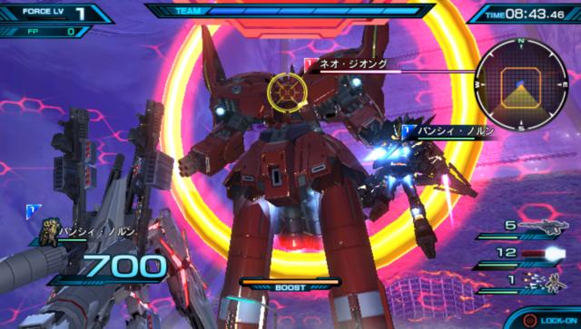 機動戦士ガンダム EXTREME VS-FORCE ゲーム画面5