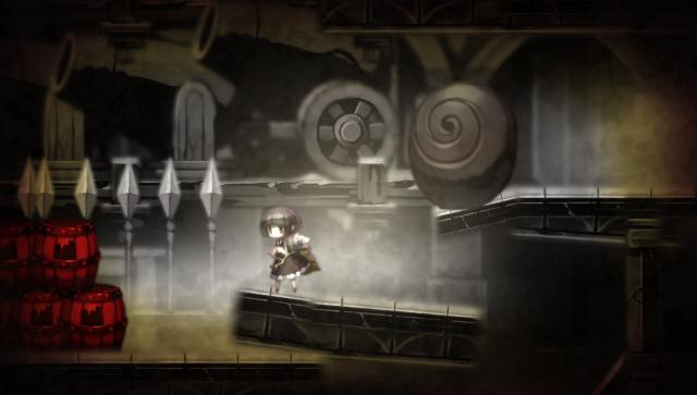 ロゼと黄昏の古城 ゲーム画面1