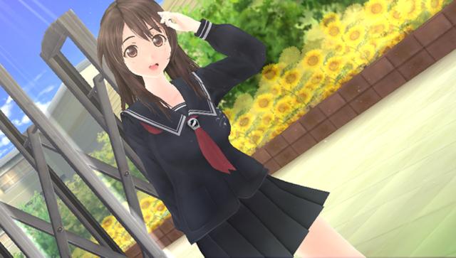 エビコレ フォトカノ Kiss ゲーム画面1