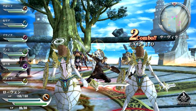 ヴァルハラナイツ3 GOLD ゲーム画面1