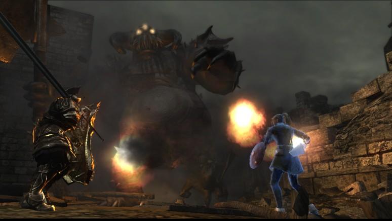 『Demon's Souls』ゲーム画面
