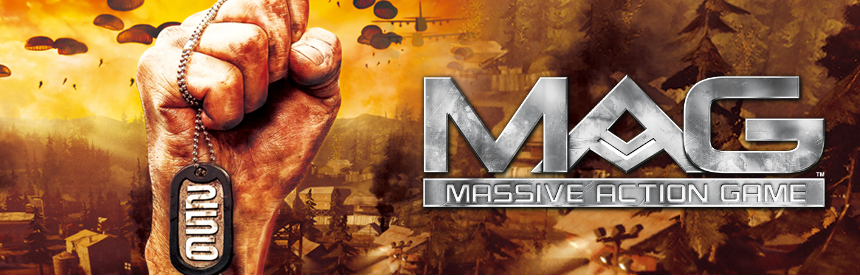 MASSIVE ACTION GAME (MAG) PlayStation®3 the Best バナー画像