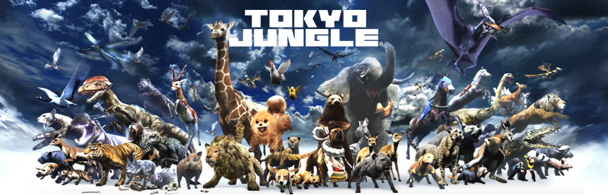 TOKYO JUNGLE PlayStation 3 the Best バナー画像