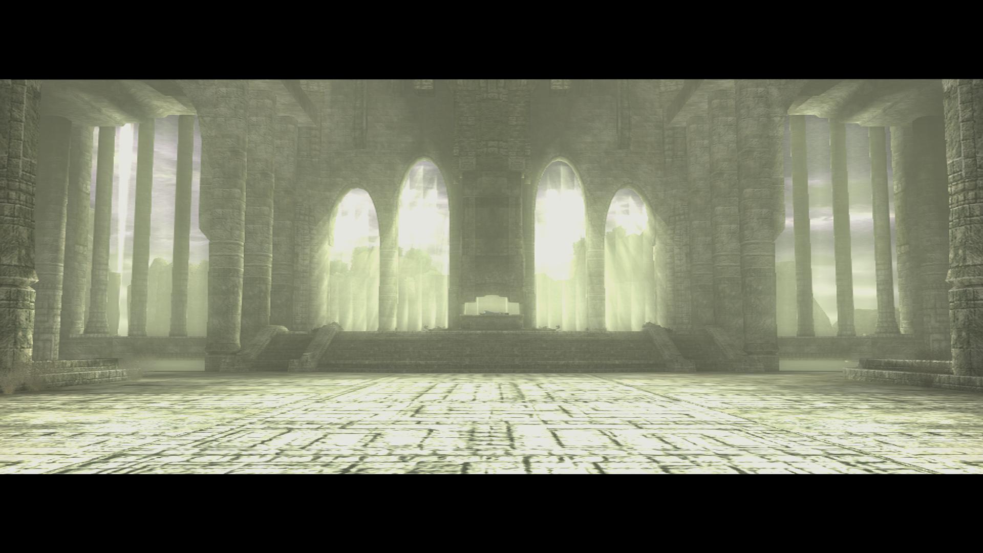 『ワンダと巨像』ゲーム画面