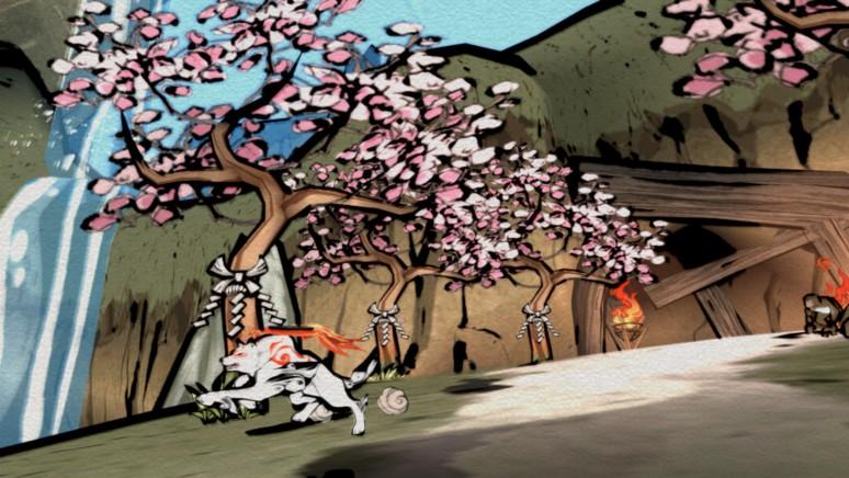 『大神 絶景版』ゲーム画面
