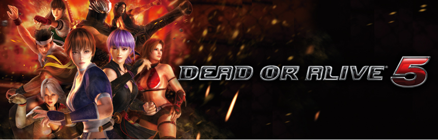 DEAD OR ALIVE 5 バナー画像