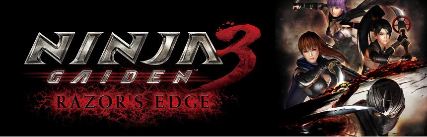 NINJA GAIDEN 3: Razor's Edge バナー画像